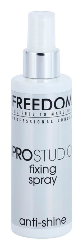 Freedom Pro Studio mattító fixáló spray a make-upra