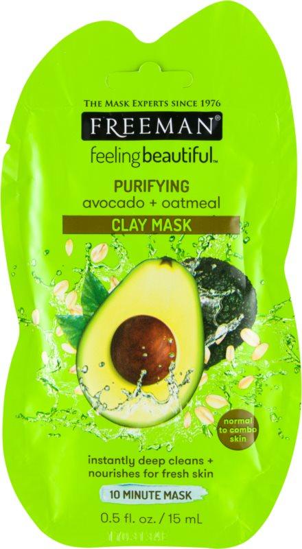 Freeman Feeling Beautiful mascarilla facial con caolín de limpieza profunda