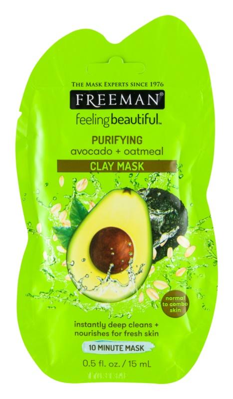 Freeman Feeling Beautiful maseczka do twarzy z kaolinem głęboko oczyszczające