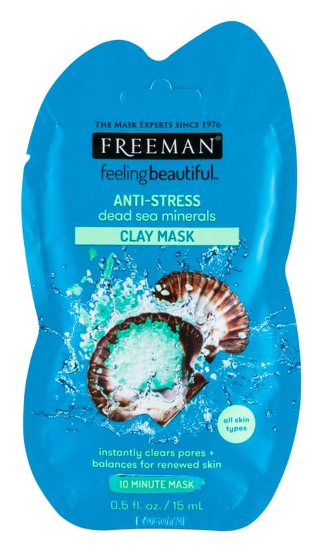Freeman Feeling Beautiful maseczka antystresowa do twarzy