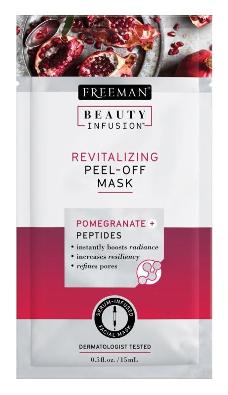 Freeman Beauty Infusion Pomegranate + Peptides Revitalizing Facial Peel - Off Mask