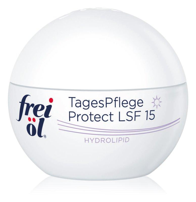 frei öl Hydrolipid denný ochranný krém proti starnutiu pleti SPF 15