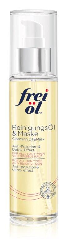 frei öl Sensitive čistiaci olej a maska na tvár