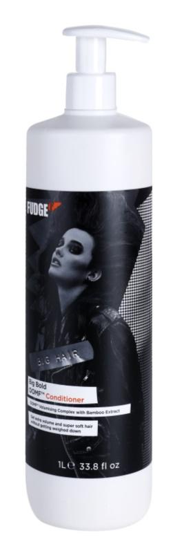 Fudge Big Hair kondicionér pre objem a lesk