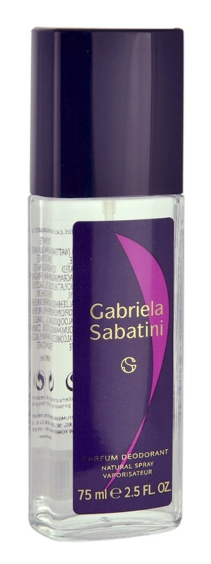 Gabriela Sabatini Gabriela Sabatini deodorant s rozprašovačem pro ženy 75 ml