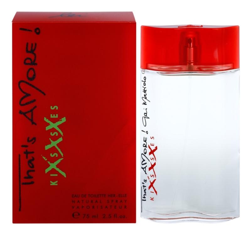 Gai Mattiolo That's Amore! Kisses XXX eau de toilette para mujer 75 ml