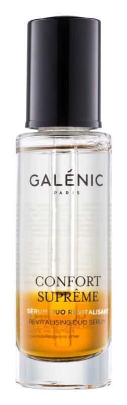 Galénic Confort Suprême dvokomponentni revitalizacijski serum za suho kožo