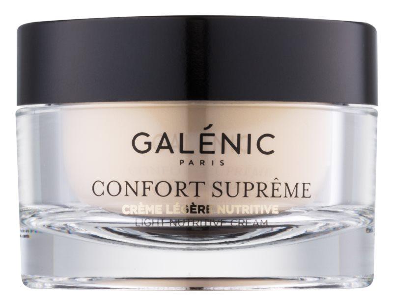 Galénic Confort Suprême Leichte nährende und Feuchtigkeit spendende Tagescreme