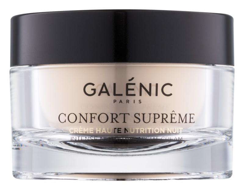 Galénic Confort Suprême nočna hranilna in vlažilna krema
