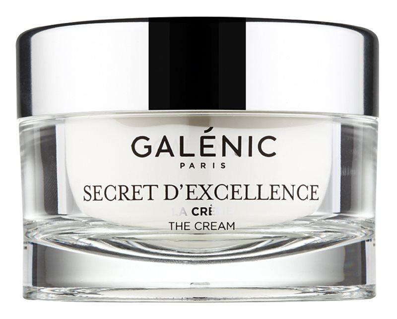 Galénic Secret D'Excelence omlazující krém proti všem projevům stárnutí na obličej, krk a dekolt