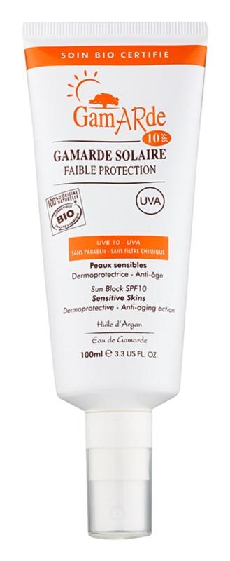 Gamarde Sun Care spray de protecție pentru față și corp SPF 10