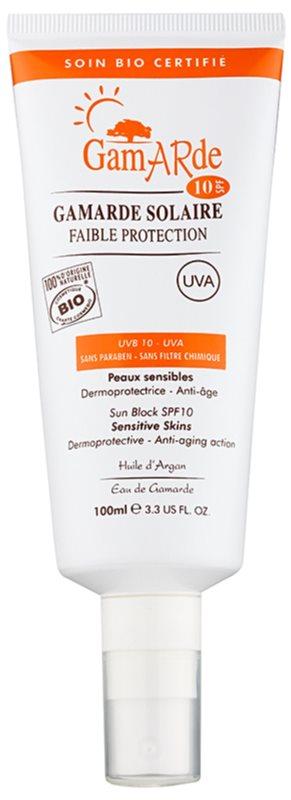 Gamarde Sun Care spray protetor para rosto e corpo SPF 10