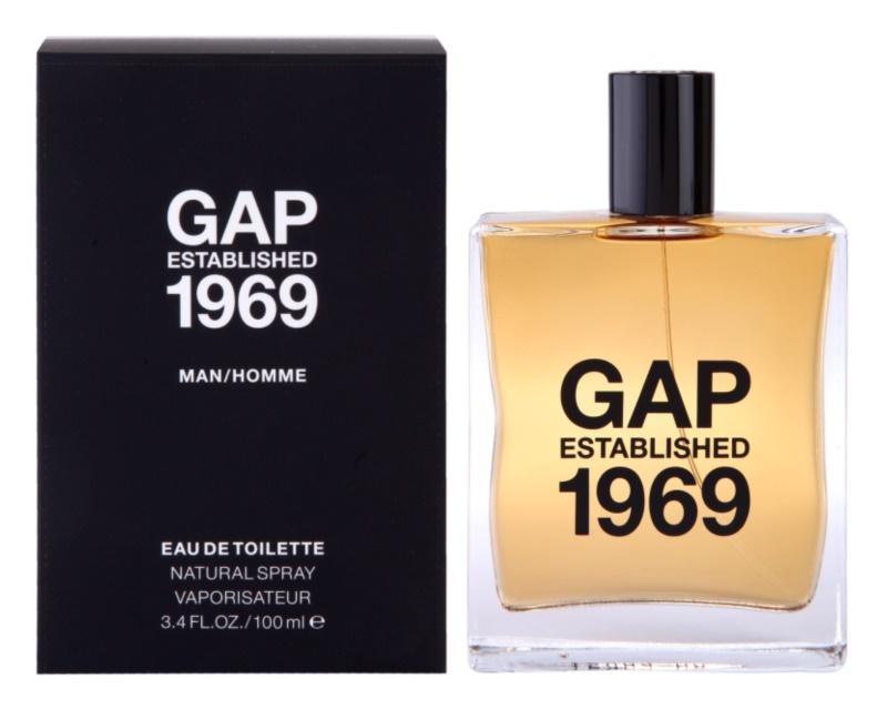 Gap Gap Established 1969 for Men Eau de Toilette für Herren 100 ml