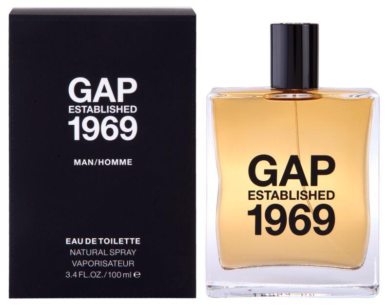 Gap Gap Established 1969 for Men woda toaletowa dla mężczyzn 100 ml