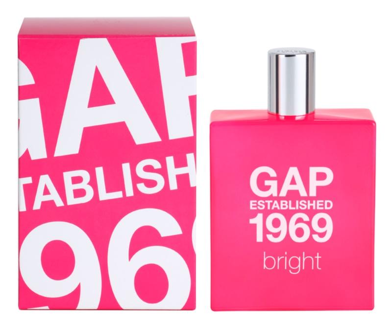 Gap Gap Established 1969 Bright eau de toilette per donna 100 ml