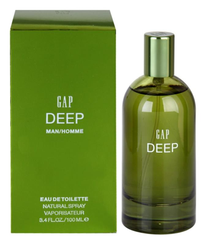 Gap Deep Men Eau de Toilette for Men 100 ml