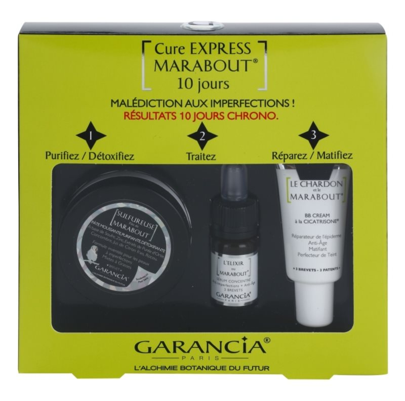 Garancia Marabout coffret cosmétique I.