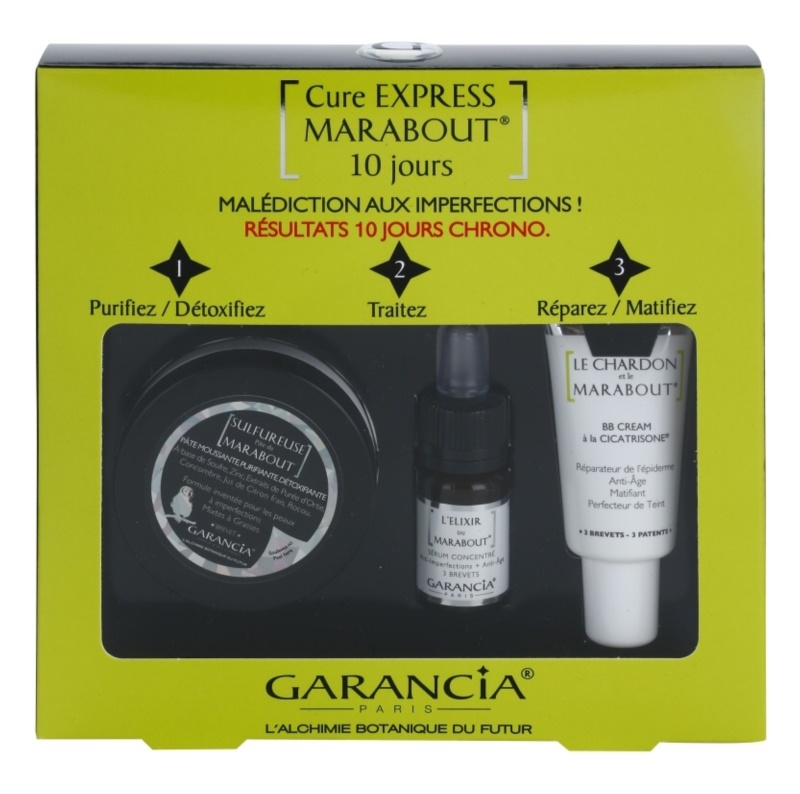 Garancia Marabout lote cosmético I.