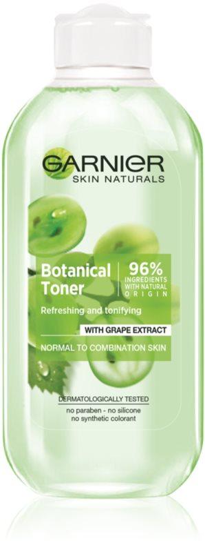 Garnier Botanical tónico facial para pieles normales y mixtas