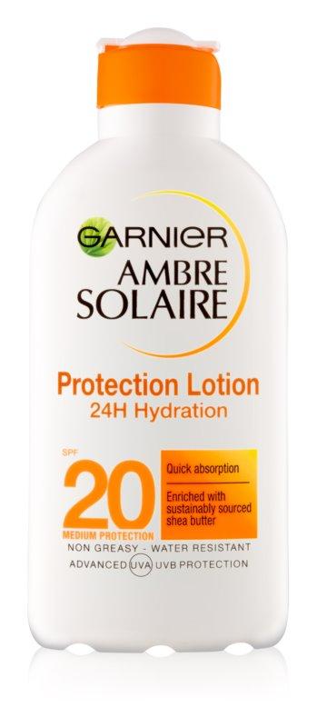 Garnier Ambre Solaire hydratační mléko na opalování SPF 20