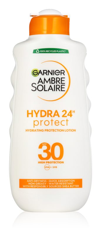 Garnier Ambre Solaire leche bronceadora SPF 30