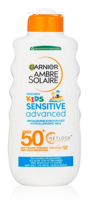 Garnier Ambre Solaire Resisto Kids mleczko ochronne dla dzieci SPF50+
