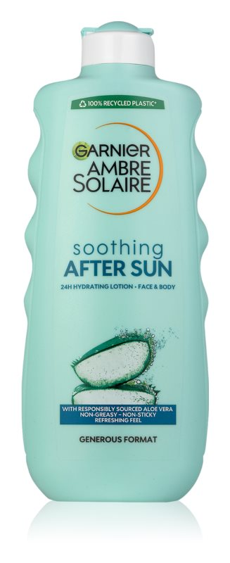 Garnier Ambre Solaire зволожуюче молочко після засмаги