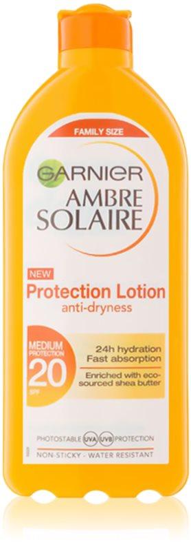 Garnier Ambre Solaire schützende Sonnenmilch SPF 20