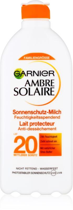 Garnier Ambre Solaire losjon za sončenje SPF 20