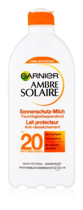 Garnier Ambre Solaire молочко для засмаги SPF 20