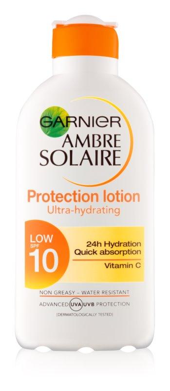 Garnier Ambre Solaire mlieko na opaľovanie SPF 10