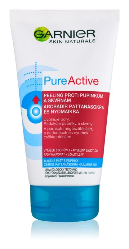 Garnier Pure Active exfoliante anti-granos
