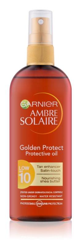 Garnier Ambre Solaire Golden Protect olej na opaľovanie SPF 10