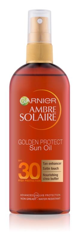 Garnier Ambre Solaire Golden Protect олио за загар SPF30
