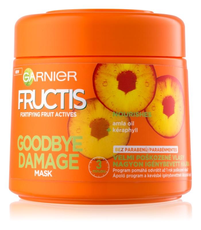 Garnier Fructis Damage Repair Versterkende Masker  voor Sterk Beschadigd Haar