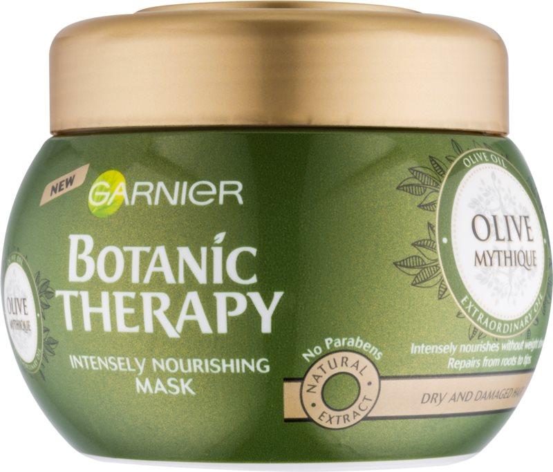 Garnier Botanic Therapy Olive hranilna maska za suhe in poškodovane lase