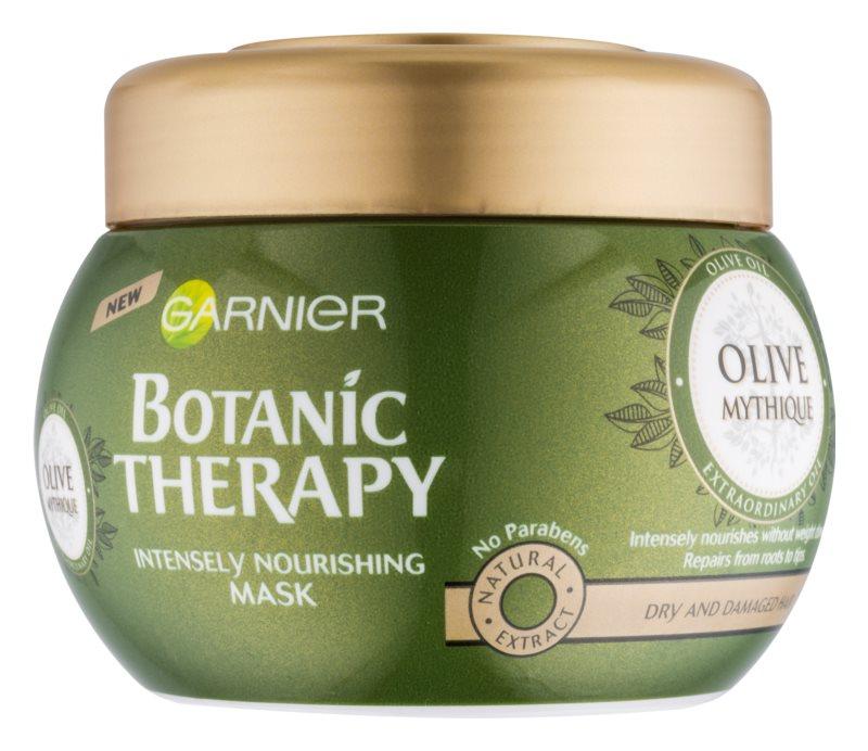 Garnier Botanic Therapy Olive Maske mit ernährender Wirkung für trockenes und beschädigtes Haar