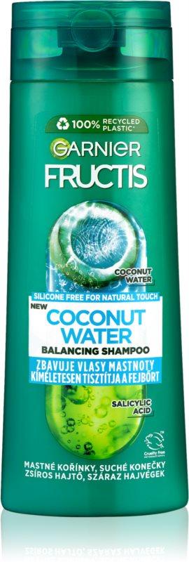 Garnier Fructis Coconut Water champú revitalizador