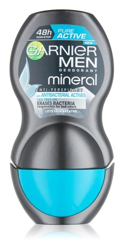 Garnier Men Mineral Pure Active Antiperspirant Roll-On