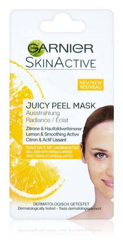 Garnier Skin Active rozjasňujúca maska pre mdlú, nezjednotenú pleť