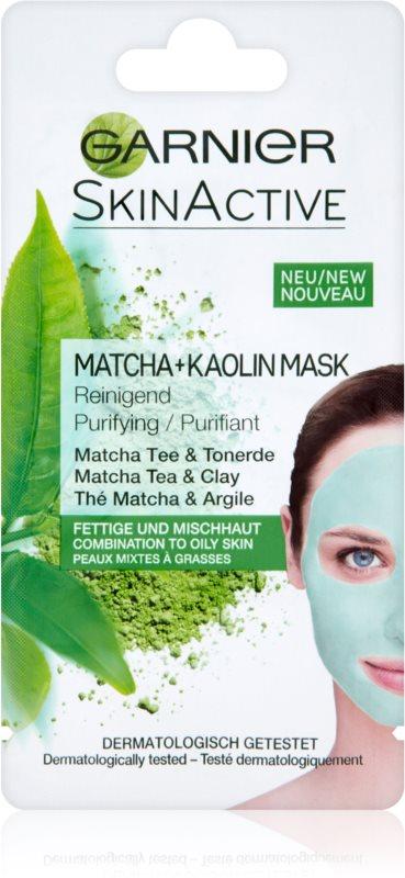 Garnier Skin Active mascarilla facial con caolín para pieles grasas y mixtas