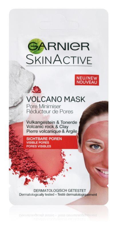 Garnier Skin Active hrejivá pleťová maska so sopečnými minerálmi a ílom sťahujúcim póry