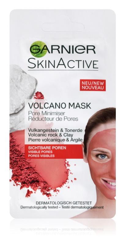 Garnier Skin Active masque visage chauffant aux minéraux volcaniques et argile qui resserre les pores