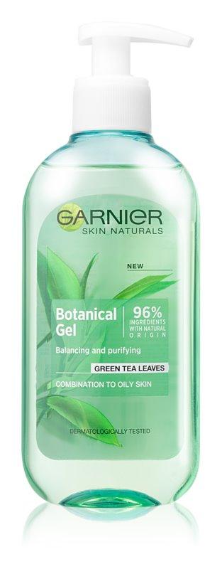 Garnier Botanical gel nettoyant détoxifiant pour peaux grasses et mixtes