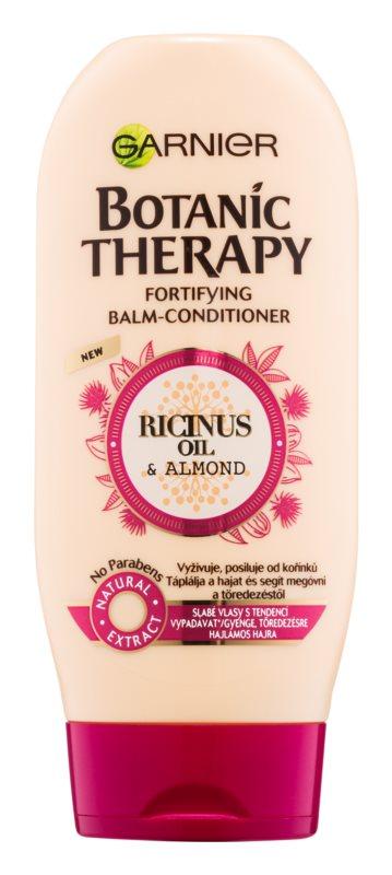 Garnier Botanic Therapy Ricinus Oil подсливащ балсам за слаба, склонна към оредяване коса без парабени