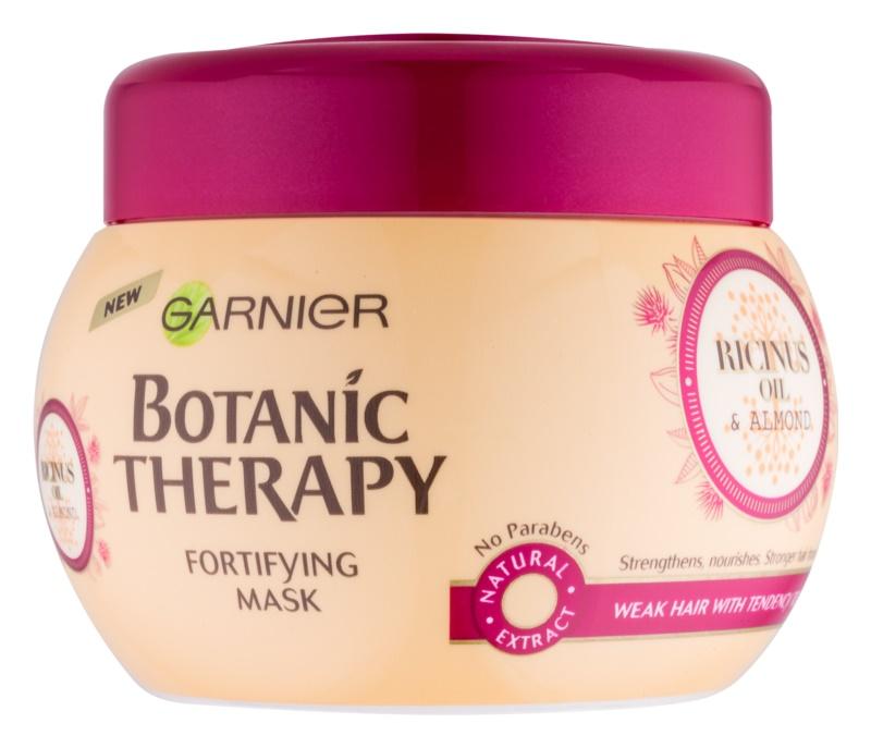 Garnier Botanic Therapy Ricinus Oil maschera rinforzante per capelli deboli con tendenza alla caduta