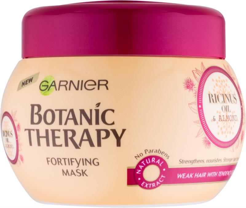 Garnier Botanic Therapy Ricinus Oil зміцнююча маска для слабкого волосся з тенденцією до випадіння
