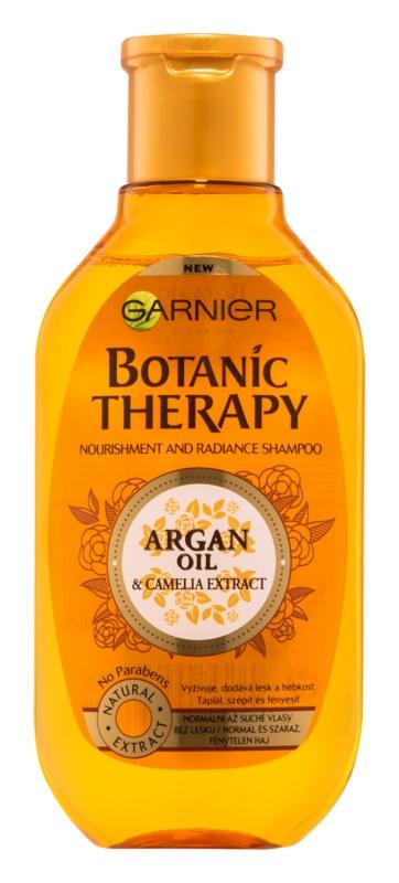 Garnier Botanic Therapy Argan Oil Shampoo mit ernährender Wirkung Für normale Haare ohne Glanz