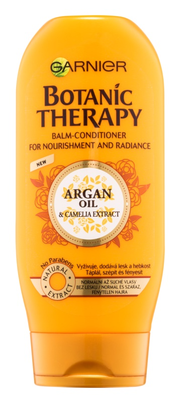 Garnier Botanic Therapy Argan Oil balsam hranitor pentru par normal, fara stralucire