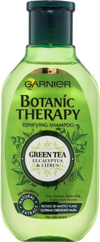 Garnier Botanic Therapy Green Tea шампунь для жирного волосся